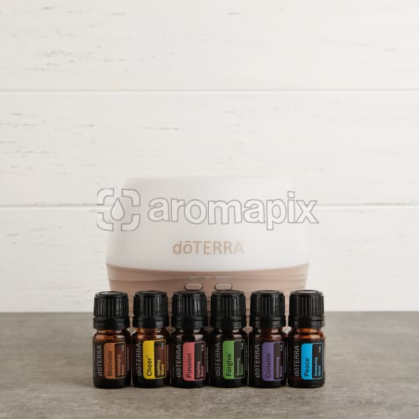 doTERRA Emotional Aromatherapy Enrolment Kit in square format ready for sharing.