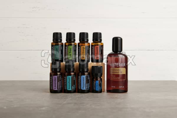 doTERRA AromaTouch Pro Enrolment Kit with a flexible layout to crop as you need.