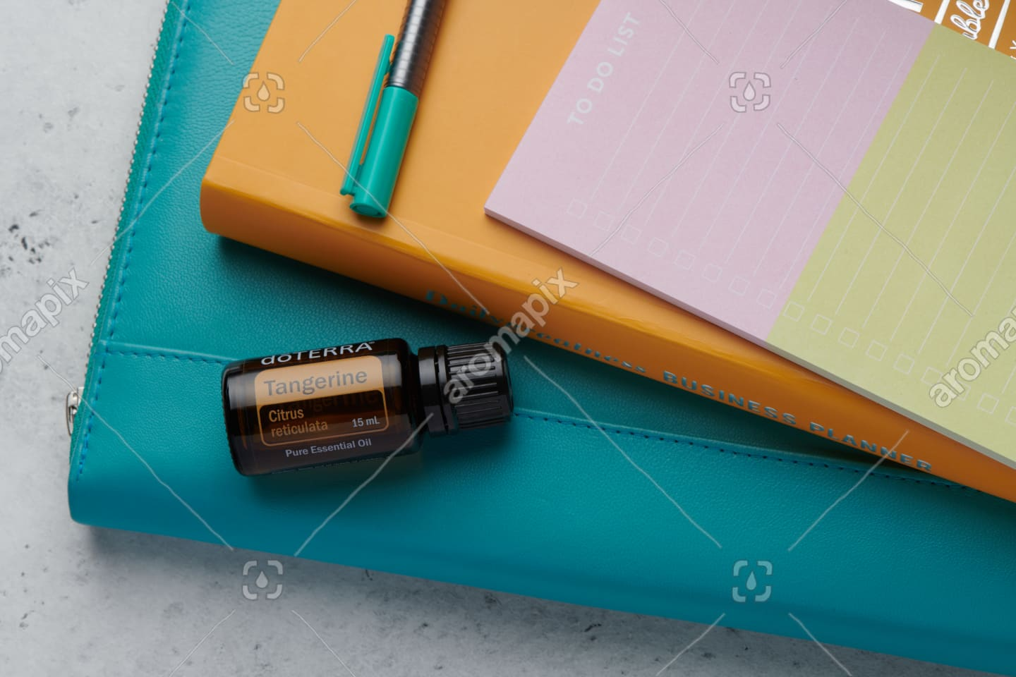 doTERRA Tangerine product with business tools