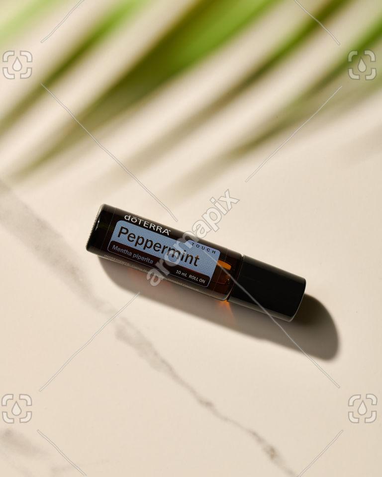 doTERRA Peppermint Touch in sunlight