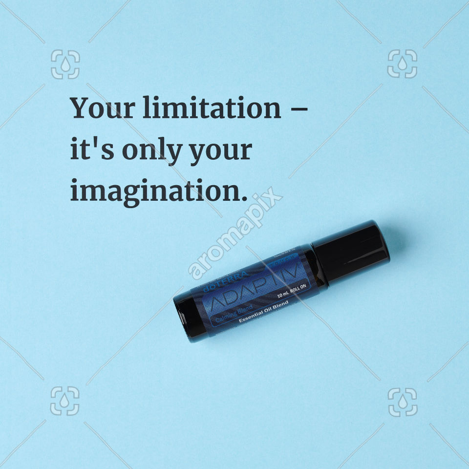 Quote about limitations featuring Adaptiv Touch
