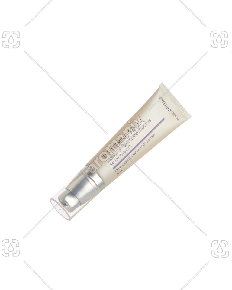 doTERRA Tightening Serum on white