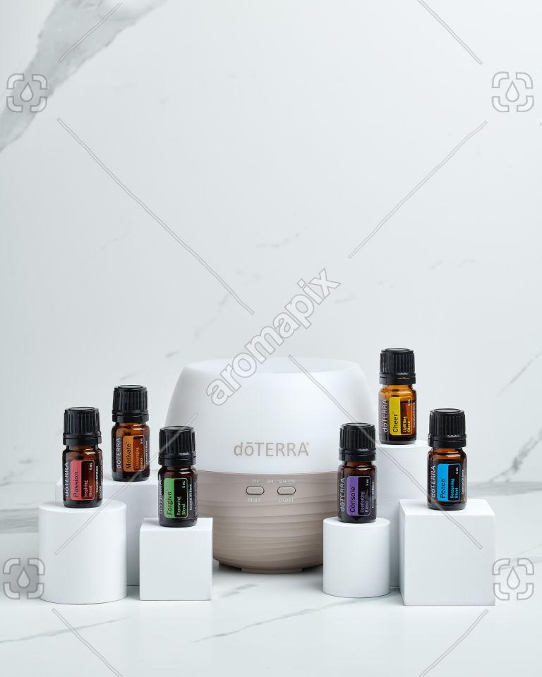 doTERRA Emotional Aromatherapy Starter Pack on white
