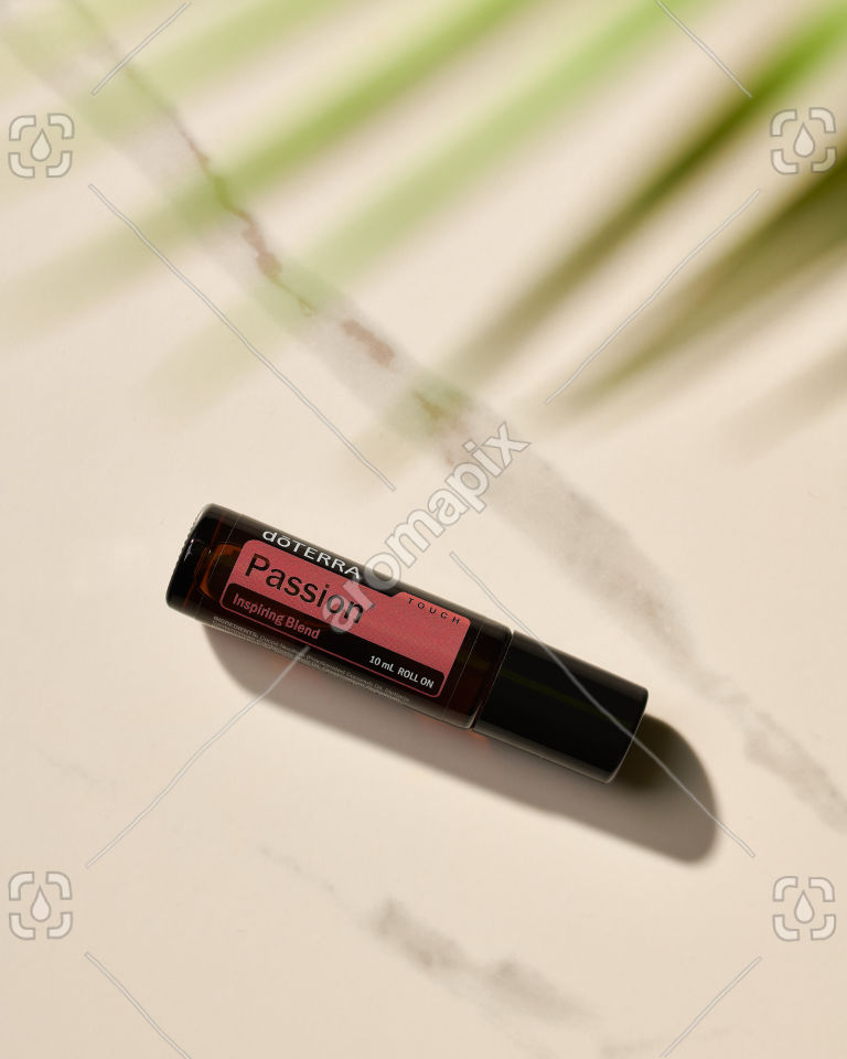 doTERRA Passion Touch in sunlight