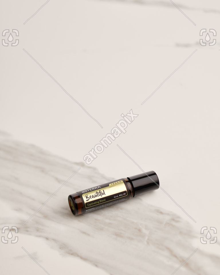 doTERRA Beautiful Touch on white marble