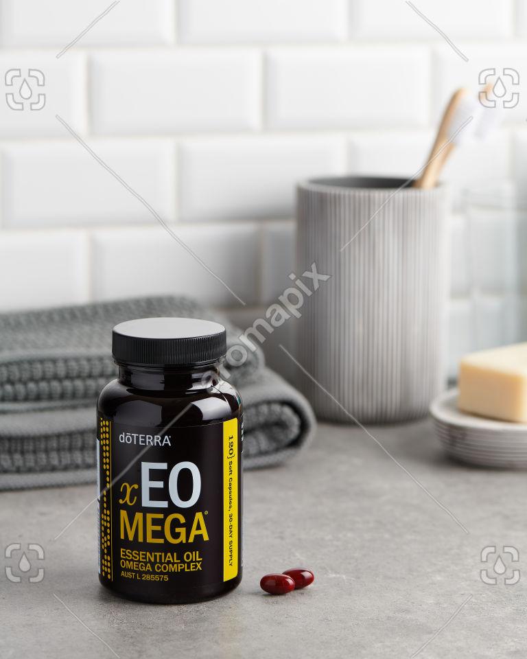 doTERRA xEO Mega in the bathroom