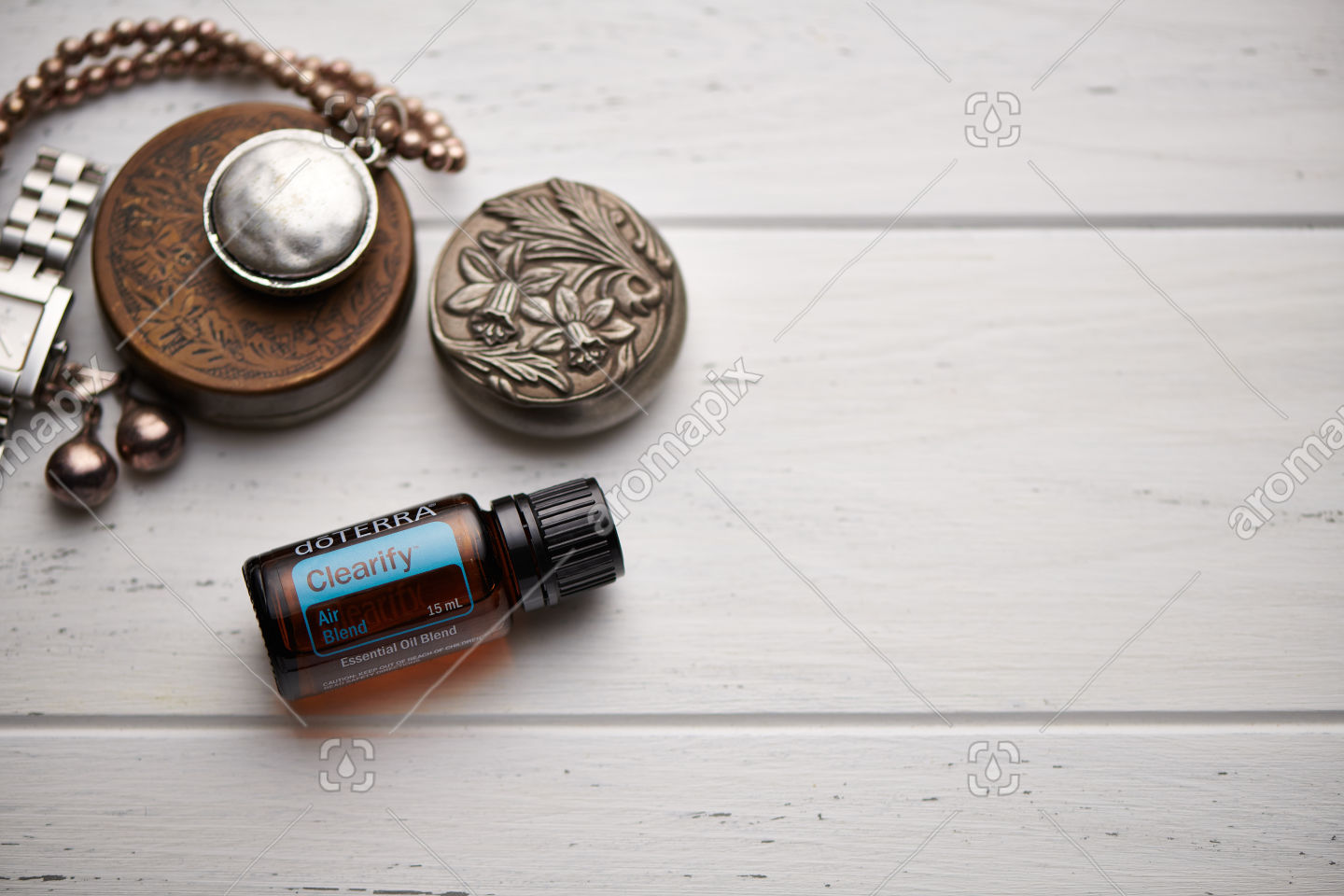 doTERRA Clearify on rustic background