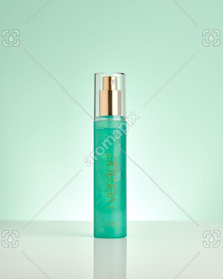 doTERRA Verage Toner on pale green