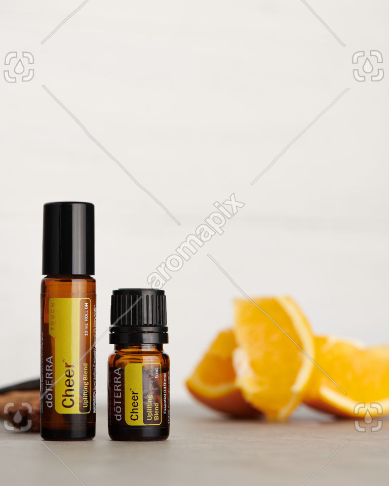 doTERRA Cheer Touch and Cheer with ingredients