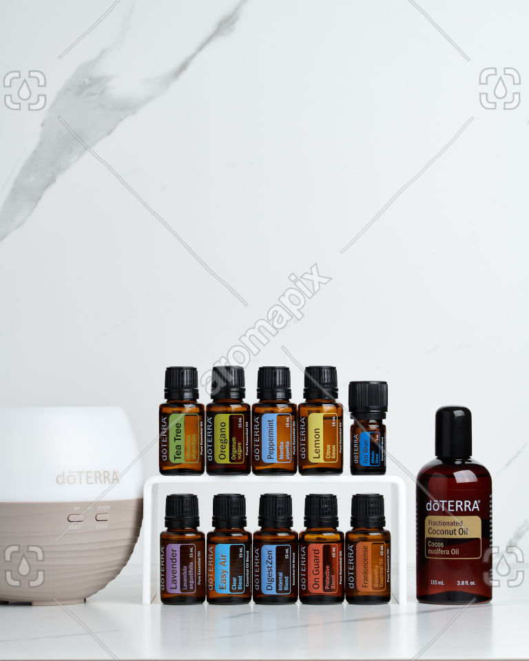 doTERRA Home Essentials Starter Pack on white