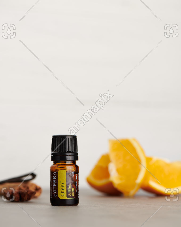 doTERRA Cheer with ingredients