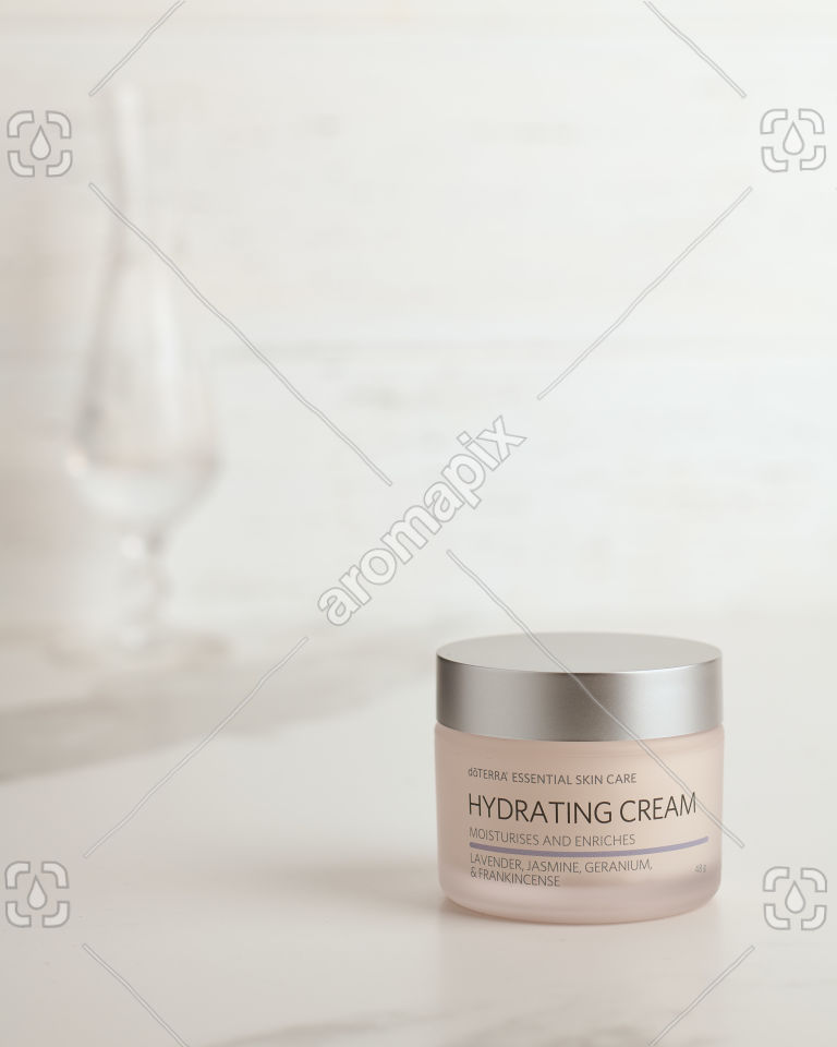 doTERRA Essential Skin Care Hydrating Cream on white