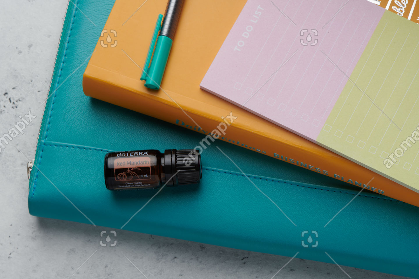 doTERRA Red Mandarin product with business tools