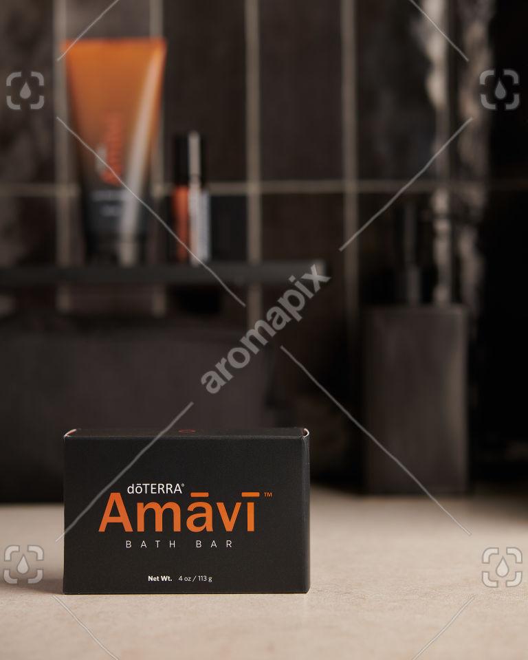 doTERRA Amavi Bath Bar on bathroom bench