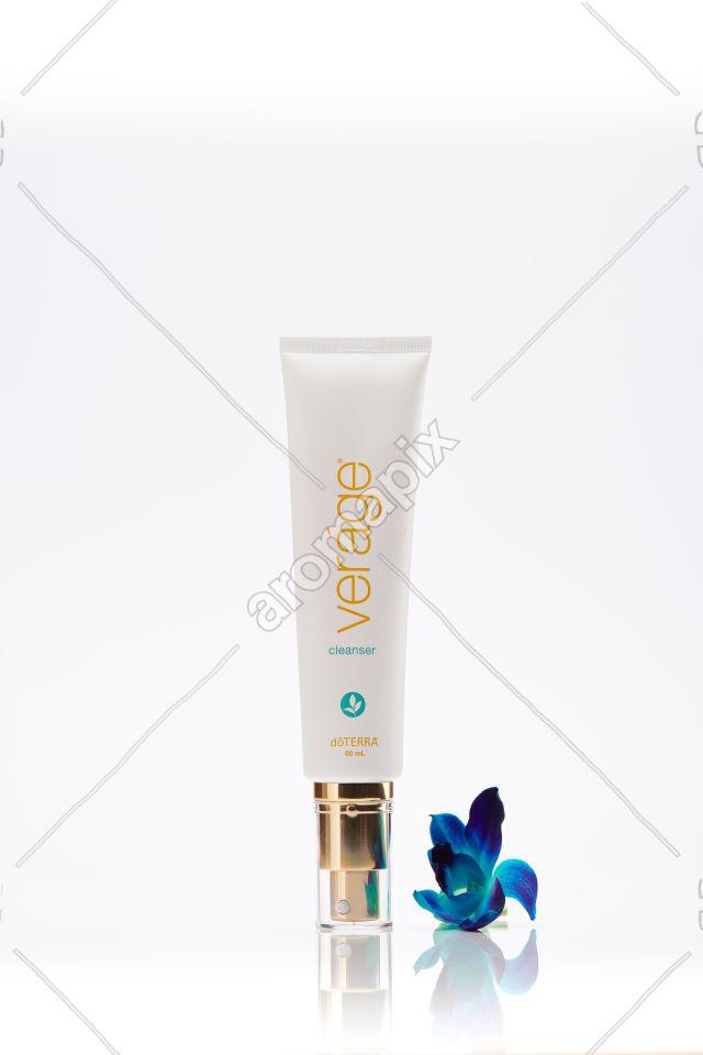 doTERRA Verage Cleanser on white
