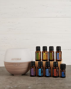 doTERRA Home Essentials Enrolment Kit in portrait view.