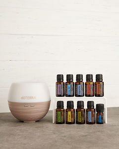 doTERRA Home Essentials Enrolment Kit in landscape view.